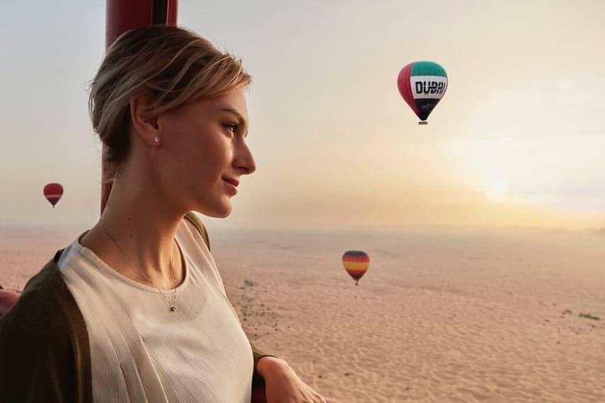 UK tourist in Dubai
